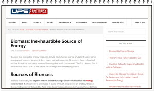 Blogs on Renewable Energy Resources